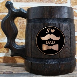 Father's Day - Mustache & Bow Tie