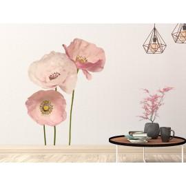 Poppy Anemone Flowers Wall Decal