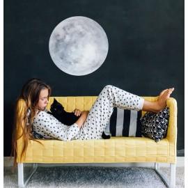 Watercolor Moon Wall Decal