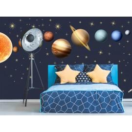 Solar System Wall Decal