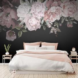Dark Floral Watercolor